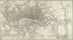 Plan of London and Westminster, with the borough of Soutwark; being an index to the large plan on forty sheets (1823)